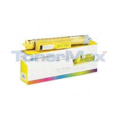 MEDIA SCIENCES TONER YELLOW HY FOR XEROX PHASER 6360